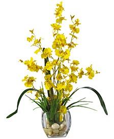 Dancing Lady Orchid Liquid Illusion Artificial Flower Arrangement