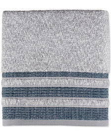 Saturday Knight Cubes Cotton Stripe Bath Towel