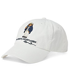 Polo Ralph Lauren Men's Polo Bear Cotton Chino Cap