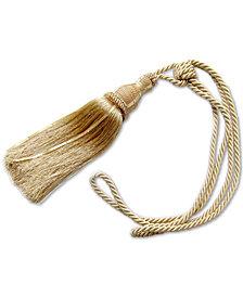 Croscill Ethel Pair of Rope Tassel Curtain Tiebacks