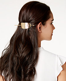 I.N.C. Gold-Tone Stick Barrette, Created for Macy's