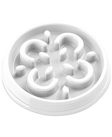 TarHong Slow Chow™ Medallion Small Feeder White