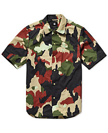 G-Star RAW Men's Bristum Utility Camo Shirt