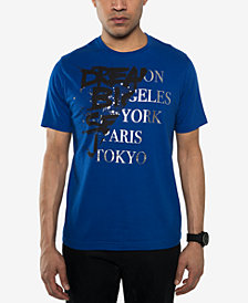Sean John Men's Split Graphic T-Shirt