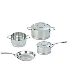 Atlantis 6-Pc. Stainless Steel Cookware Set