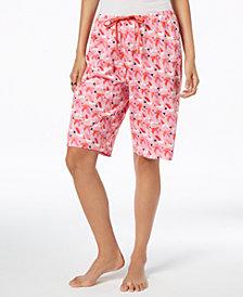 HUE® Printed Bermuda Pajama Shorts