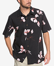 Quiksilver Men's Waterman Kiribati Lagoon Printed Shirt