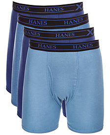 Hanes Men's X-Temp Boxer Briefs 4-Pack