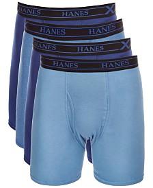 Hanes Men's X-Temp Boxer Briefs 4-Pack
