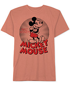 Hybird Men's Mickey Mouse Graphic T-Shirt
