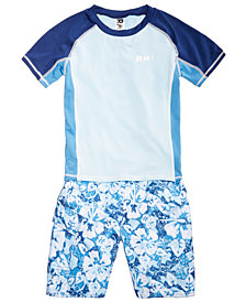 RM 1958 Toddler Boys 2-Pc. Rash Guard Set