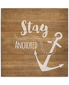 Cathy's Concepts Anchor Wood Sign