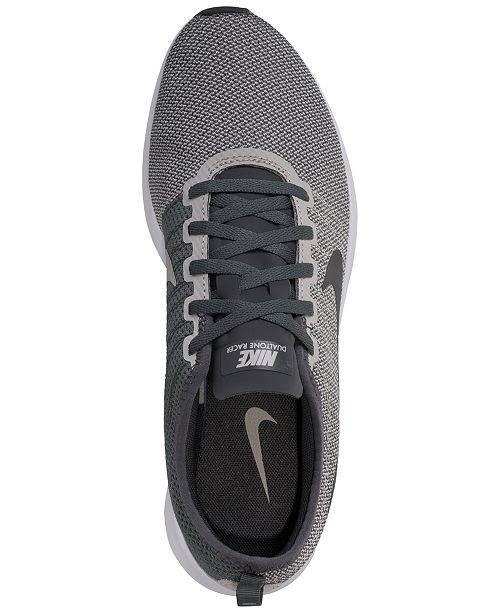 promo code 8cca9 34590 Nike Men s Dualtone Racer Casual Sneakers from Finish ...