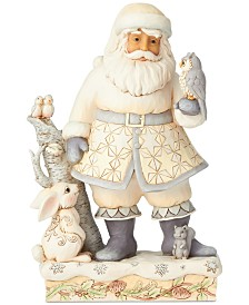 Jim Shore Woodland Santa with Animals Figurine