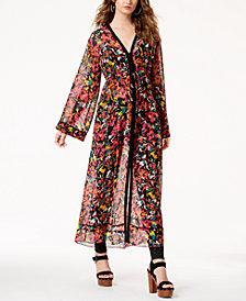 GUESS Melia Printed Long Kimono