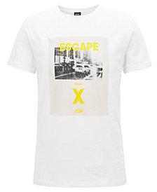 BOSS Men's Graphic-Print Cotton T-Shirt
