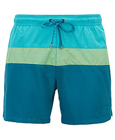 BOSS Men's Colorblocked Swim Shorts