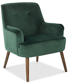 Superbe Fenby Accent Chair, Quick Ship