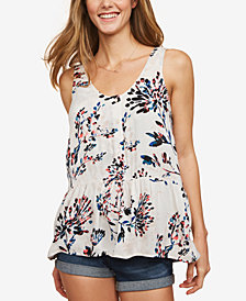 Motherhood Maternity Peplum Nursing Top
