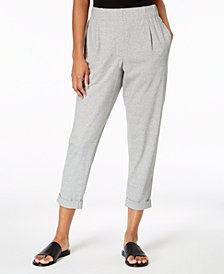 Eileen Fisher Cotton Slouchy Pants, Regular & Petite