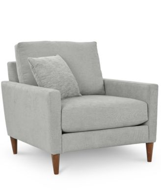 "Macy's Emberli 35"" Fabric Accent Chair"