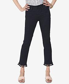 NYDJ Sheri Tummy-Control Tasseled-Hem Jeans