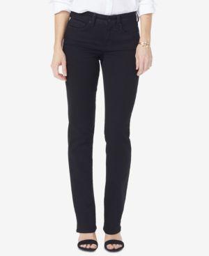 NYDJ Marilyn Tummy-Control Bootcut Jeans, In Regular & Petite Sizes in Black