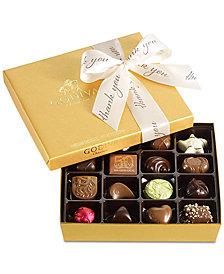 Godiva 19-Pc. Thank You Gold Gift Box