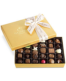 Godiva 36-Pc. Thank Your Gold Gift Box