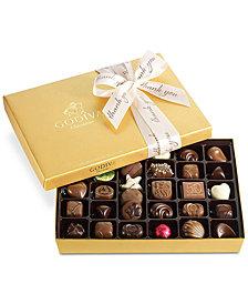 Godiva 36-Pc. Thank Your Gold Gift Box
