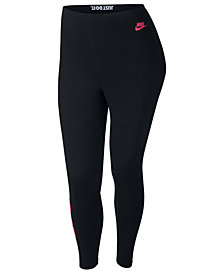 Nike Plus Size Sportswear Just Do It Leggings