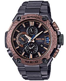 G-Shock Men's Solar Tsuiki MR-G Black Titanium Bracelet Watch 49.8mm, a Limited Edition