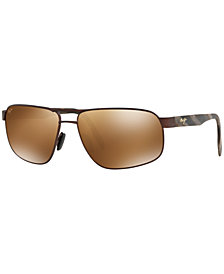 Maui Jim Polarized Sunglasses, 776 WHITEHAVEN 63
