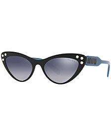 Miu Miu Sunglasses, MU 05TS 55