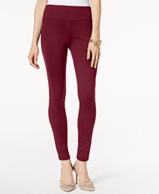 I.N.C. Curvy Pull-On Skinny Pants, Created for Macy's