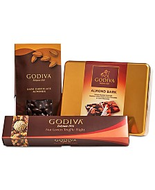 Godiva Nutty Favorites Gift Set
