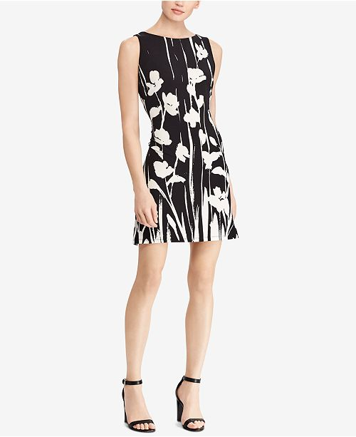 174797b451793 American Living. Floral Print Jacquard Dress. 7 reviews. main image  main  image ...