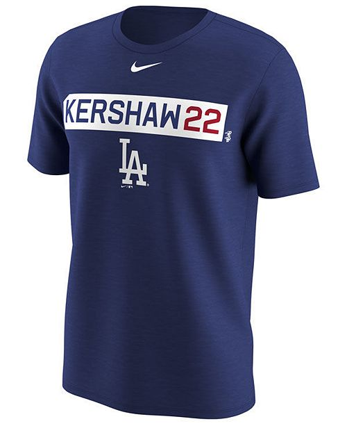 Nike Men's Clayton Kershaw Los Angeles Dodgers Legend Player T-Shirt