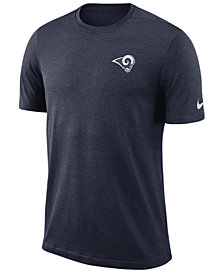Nike Men's Los Angeles Rams Coaches T-Shirt