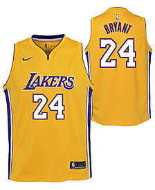 Nike Kobe Bryant Los Angeles Lakers Icon Swingman Jersey, Big Boys (8-20)