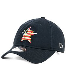New Era Houston Astros Stars and Stripes 9TWENTY Strapback Cap