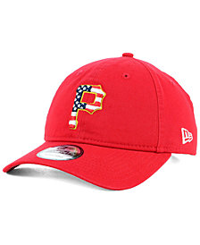 New Era Pittsburgh Pirates Stars and Stripes 9TWENTY Strapback Cap