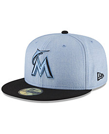 New Era Miami Marlins Father's Day 59FIFTY Fitted Cap 2018