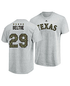 Majestic Men's Adrian Beltre Texas Rangers Camo Player T-Shirt