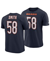 a4503e2f07b Nike Men's Roquan Smith Chicago Bears Pride Name and Number Wordmark T-shirt