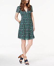 MICHAEL Michael Kors Petite Printed Shift Dress