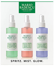 Mario Badescu 3-Pc. Spritz. Mist. Glow. Set
