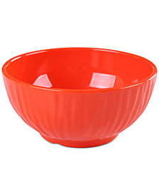 "CLOSEOUT! Laurie Gates Orange Figural 6"" Bowl, First at Macy's"
