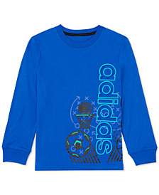 adidas Toddler Boys Graphic-Print Cotton T-Shirt