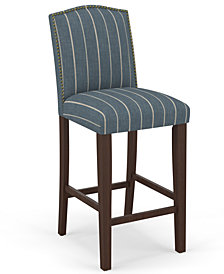 Martha Stewart Collection™ Bedford Collection Cora Bar Stool, Quick Ship, Created For Macy's